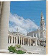 Sanctuary Of Fatima Wood Print