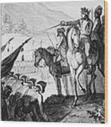 Saratoga: Surrender, 1777 Wood Print