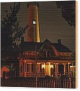 St Simons Island Lighthouse 2 Wood Print