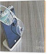 Telephone Wood Print