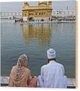 The Golden Temple At Amritsar India Wood Print