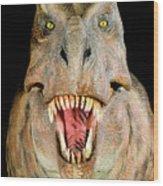Tyrannosaurus Rex Model Wood Print