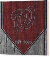 Washington Nationals Wood Print
