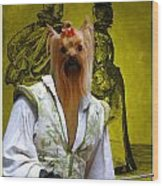 Yorkshire Terrier Art Canvas Print Wood Print