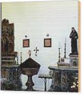 Views Of Taormina Sicily Wood Print