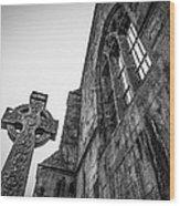 700 Years Of Irish History At Quin Abbey Wood Print