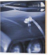 '71 Hemi'cuda Wood Print