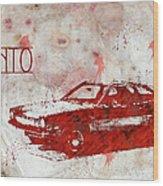 71 Pinto Wood Print