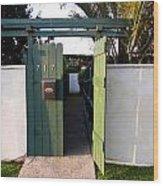 717 Gate Open Coronado California Wood Print