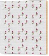 72 Dancing Pink Magnolias Panel Wood Print