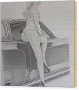 72' Monte  Wood Print