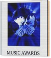 Music Awards Wood Print
