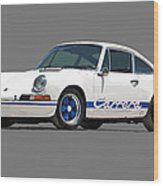 '73 Porsche 911 Carrera 2.7 Rs Wood Print
