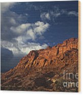 clearing storm waterpocket fold capitol reef NP Wood Print