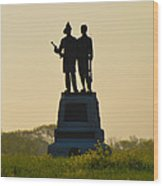 73rd Ny Infantry 2nd Fire Zouaves Wood Print