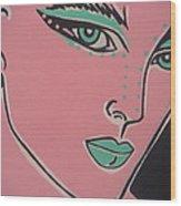 Pikotine Art Wood Print