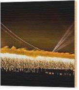 75th Anniversary Of The Golden Gate Bridge  Wood Print
