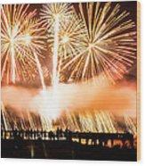 75th Golden Gate Bridge Celebration Wood Print