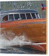 Thunderbird Yacht Wood Print