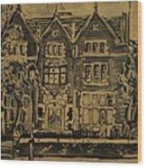770  Wood Print