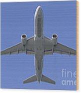 777 Overhead Wood Print