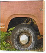78 Dodge Power Wagon  Wood Print
