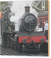 7822 'foxcote Manor' Wood Print