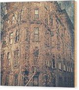 7th Floor Wood Print
