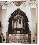 Abruzzo, Aquila, Sulmona, Chiesa Dell Annunziata Wood Print