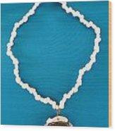 Aphrodite Anadyomene  Necklace Wood Print
