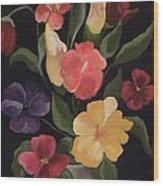 Blooms Of Spring Wood Print