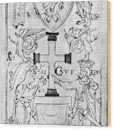 Canute I (c995-1035) Wood Print