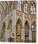 Cathedral Of St. Helena Wood Print