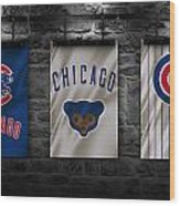 Chicago Cubs Wood Print