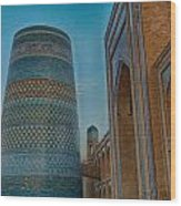 Chiva- Uzbekistan Wood Print