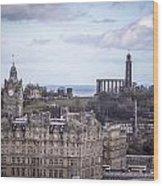 Edinburgh Wood Print