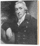 Edward Jenner (1749-1823) Wood Print