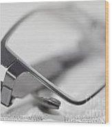 Eyeglasses Wood Print