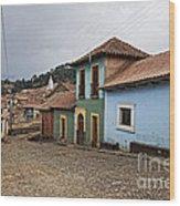 forgotten village Totora Wood Print
