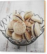 French Macaroons Wood Print