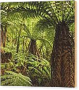 Jungle Wood Print