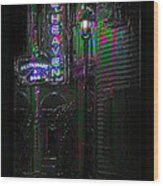 Key West Florida - Blue Heaven Rendezvous Wood Print
