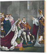 Mary, Queen Of Scots Wood Print