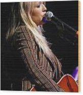 Miranda Lambert Wood Print