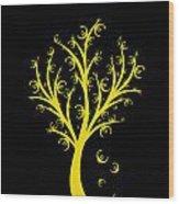 Money Tree Wood Print by IB Photo