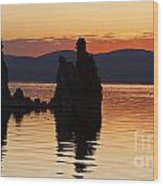 Mono Lake California Wood Print by Jason O Watson