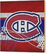 Montreal Canadiens Wood Print