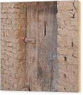 Mud Brick Village Wood Print