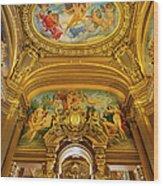 Palais Garnier Interior Wood Print