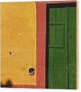 Portugal Luggage Tag Wood Print